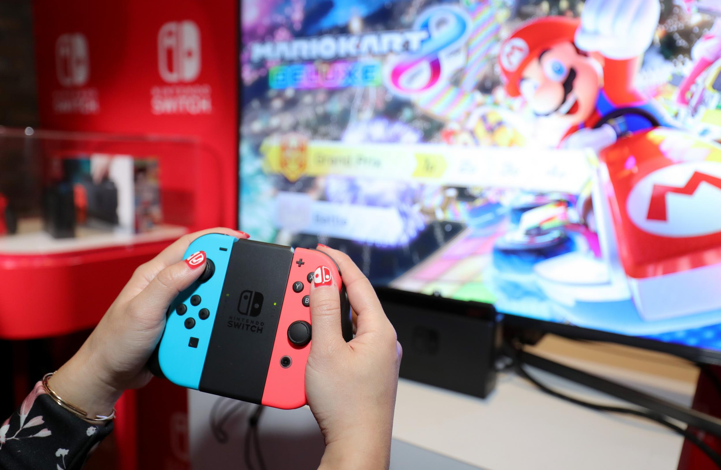 Nintendo's New Switch Model Up for Sale in UK