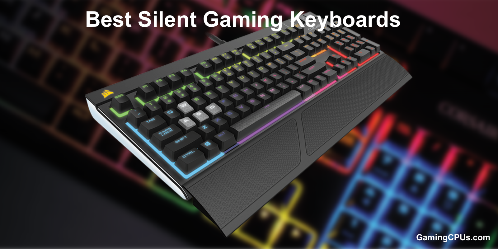 best silent gaming keyboards