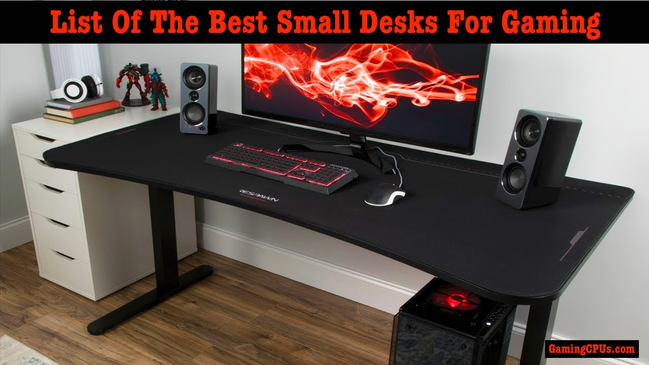 small gaming desk